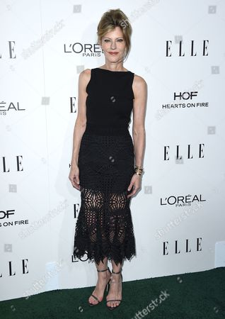Robbie Myers, Editor-In-Chief, ELLE, arrives at the 23rd annual ELLE Women in Hollywood Awards at the Four Season Hotel, in Los Angeles