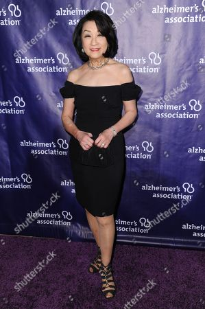 "Connie Chung attends the 24th Annual ""A Night at Sardi's"" held at the Beverly Hilton Hotel, in Beverly Hills, Calif"