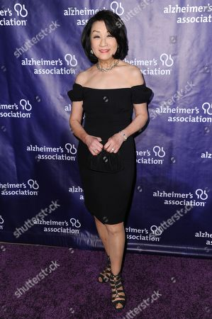 """Connie Chung attends the 24th Annual """"A Night at Sardi's"""" held at the Beverly Hilton Hotel, in Beverly Hills, Calif"""