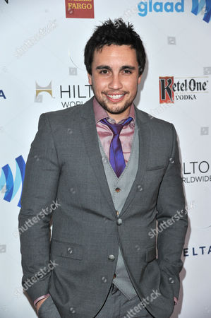 Chester See arrives at the 25th Annual GLAAD Media Awards on