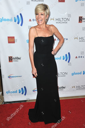 Debby Boone arrives at the 25th Annual GLAAD Media Awards on