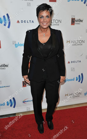 Tracy Young arrives at the 25th Annual GLAAD Media Awards on Richard Shotwell/Invision/AP