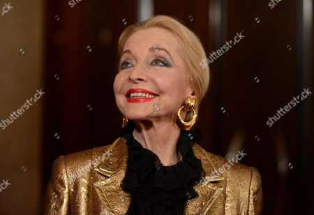 Anne Jeffreys arrives at the 25th Annual GLAAD Media Awards on