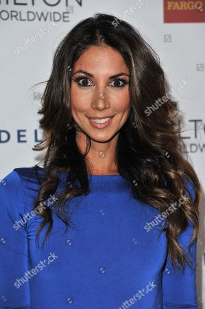 Leilani Dowding arrives at the 25th Annual GLAAD Media Awards on