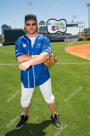 Craig Wayne Boyd poses at the 26th Annual City of Hope Celebrity Softball Game at First Tennessee Park on in Nashville, Tenn