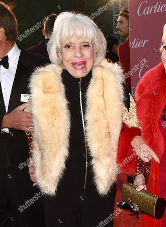 Carol Channing arrives at the 26th annual Palm Springs International Film Festival Awards Gala, in Palm Springs, Calif