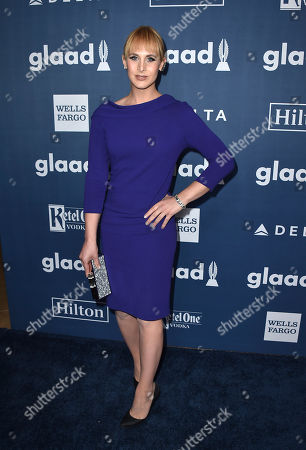 Zackary Drucker arrives at the 27th Annual GLAAD Media Awards at the Beverly Hilton, in Beverly Hills, Calif