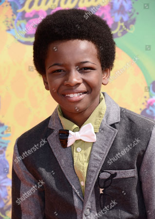 Stock Photo of Dusan Brown arrives at the 27th annual Kids' Choice Awards at the Galen Center, in Los Angeles