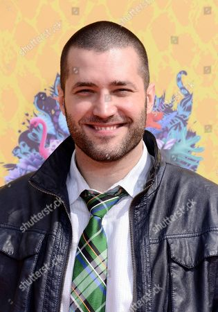 Stock Picture of Zoran Korach arrives at the 27th annual Kids' Choice Awards at the Galen Center, in Los Angeles