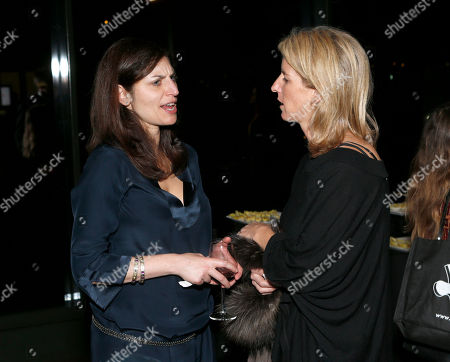 Sari Gilman and Rory Kennedy attend the 28th Annual IDA Documentary Awards After Party Sponsored By Canon at the DGA Theater on in Los Angeles, California