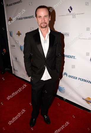 Stock Image of Colin Cunningham arrives at the 2nd Annual California Fire Foundation Gala at Avalon Hollywood, in Hollywood, Calif