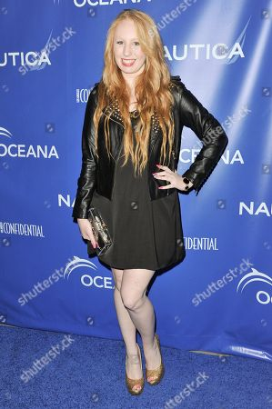 Elizabeth Stanton arrives at the 2nd Annual Nautica Oceana Beach House Party, in Santa Monica, Calif