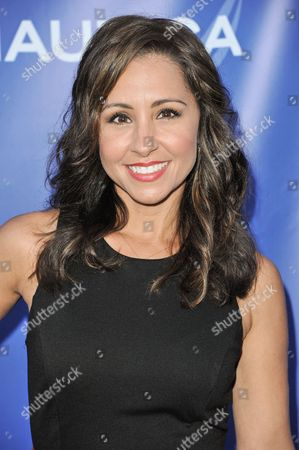 Nikki Boyer arrives at the 2nd Annual Nautica Oceana Beach House Party, in Santa Monica, Calif