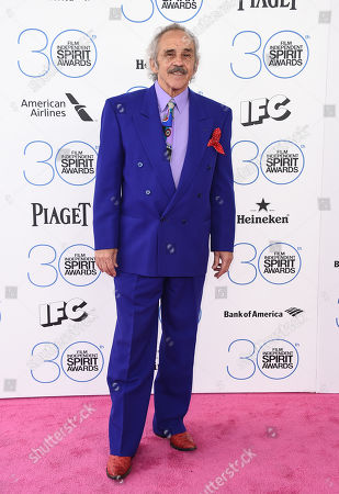 Stock Picture of Pepe Serna arrives at the 30th Film Independent Spirit Awards, in Santa Monica, Calif