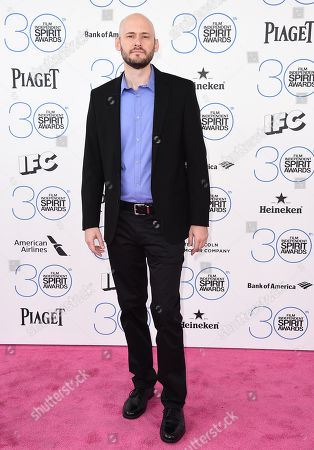 Chris Ohlson arrives at the 30th Film Independent Spirit Awards, in Santa Monica, Calif