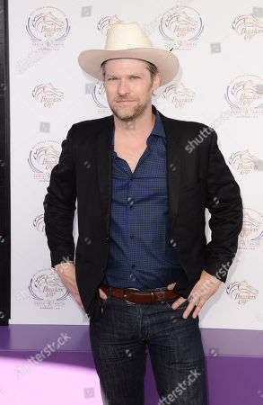 Todd Lowe is seen at the 30th Running of the Breeders' Cup World Championships Day 2, on in Arcadia, Calif