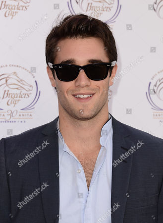 Joshua Bowman is seen at the 30th Running of the Breeders' Cup World Championships Day 2, on in Arcadia, Calif