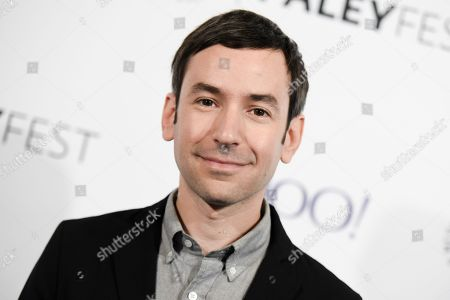 """Andy Greenwald arrives at the 32nd Annual Paleyfest : """"A Salute to Comedy Central"""" held at the The Dolby Theatre, in Los Angeles"""