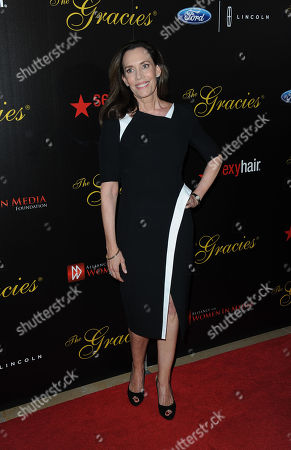 Jane Williams arrives at the 38th Annual Gracie Awards Gala at the Beverly Hilton Hotel on in Beverly Hills, Calif
