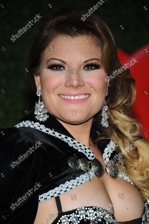 Diana Reyes attends the press room at the 3rd Annual Billboard Mexican Awards at The Dolby Theatre on in Los Angeles