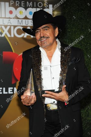 Joan Sebastian attends the press room at the 3rd Annual Billboard Mexican Awards at The Dolby Theatre on in Los Angeles