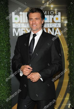 Juan Soler attends the press room at the 3rd Annual Billboard Mexican Awards at The Dolby Theatre on in Los Angeles
