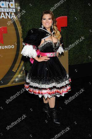 Stock Picture of Diana Reyes attends the press room at the 3rd Annual Billboard Mexican Awards at The Dolby Theatre on in Los Angeles