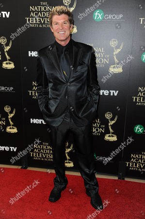 Winsor Harmon arrives at the 41st annual Daytime Emmy Awards at the Beverly Hilton Hotel, in Beverly Hills, Calif
