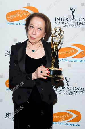 IMAGE DISTRIBUTED FOR GREATER FORT LAUDERDALE CONVENTION & VISiTORS BUREAU - Fernanda Montenegro is seen as the Greater Fort Lauderdale Convention & Visitors Bureau rolls out the red carpet for film and entertainment movers and shakers at the 41st International Emmy Awards Gala, on in New York. This is the third year the GFLCVB has partnered with the International Emmy World Television Festival to highlight Greater Fort Lauderdale as an ideal location for film, music, arts and culture