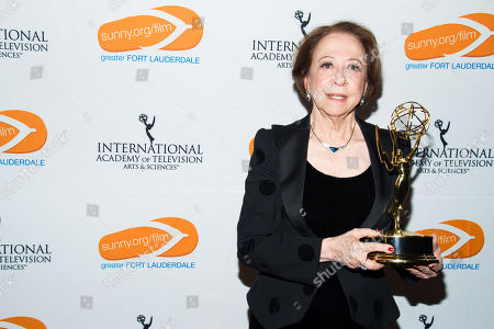 Fernanda Montenegro is seen as the Greater Fort Lauderdale Convention & Visitors Bureau rolls out the red carpet for film and entertainment movers and shakers at the 41st International Emmy Awards Gala, on in New York. This is the third year the GFLCVB has partnered with the International Emmy World Television Festival to highlight Greater Fort Lauderdale as an ideal location for film, music, arts and culture