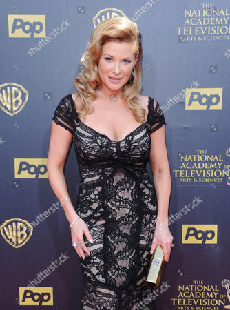 Cady McClain arrives at the 42nd annual Daytime Emmy Awards at Warner Bros. Studios, in Burbank, Calif
