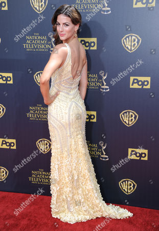 Renee Marino arrives at the 42nd annual Daytime Emmy Awards at Warner Bros. Studios, in Burbank, Calif