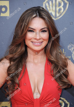 Lilly Melgar arrives at the 42nd annual Daytime Emmy Awards at Warner Bros. Studios, in Burbank, Calif