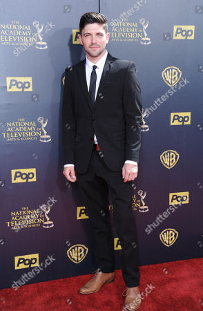 Robert Adamson arrives at the 42nd annual Daytime Emmy Awards at Warner Bros. Studios, in Burbank, Calif