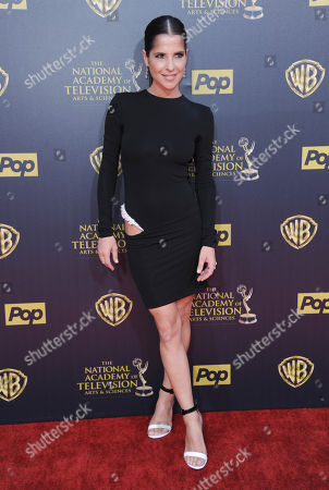Kelly Monaco arrives at the 42nd annual Daytime Emmy Awards at Warner Bros. Studios, in Burbank, Calif