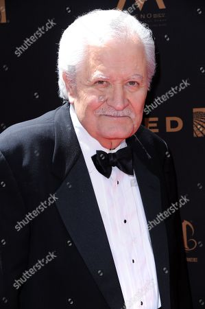 John Aniston arrives at the 43rd annual Daytime Emmy Awards at the Westin Bonaventure Hotel, in Los Angeles