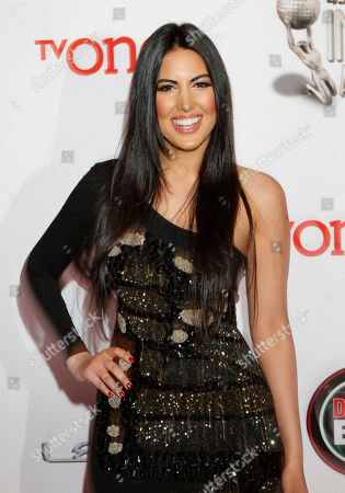 Estrella Nouri arrives at the 45th NAACP Image Awards at the Pasadena Civic Auditorium, in Pasadena, Calif