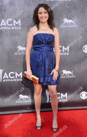 Editorial photo of 49th Annual Academy of Country Music Awards - Arrivals, Las Vegas, USA - 6 Apr 2014
