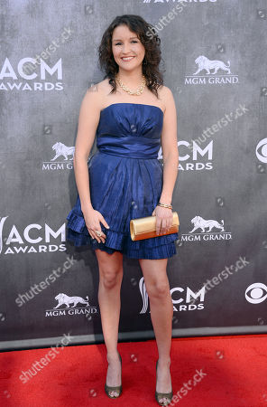 Editorial image of 49th Annual Academy of Country Music Awards - Arrivals, Las Vegas, USA - 6 Apr 2014