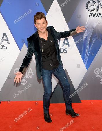 Editorial photo of 49th Annual CMA Awards - Arrivals, Nashville, USA - 4 Nov 2015