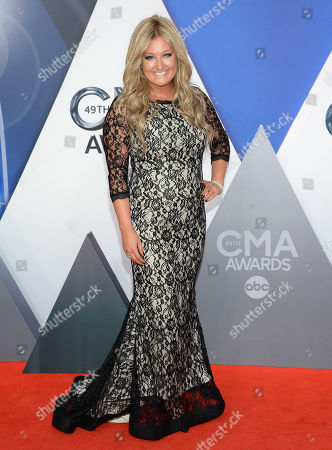 Stock Photo of Erica Nicole arrives at the 49th annual CMA Awards at the Bridgestone Arena, in Nashville, Tenn