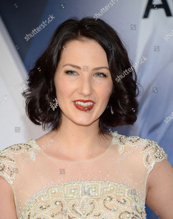Stock Picture of Katie Armiger arrives at the 49th annual CMA Awards at the Bridgestone Arena, in Nashville, Tenn