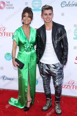 Paula Abdul and Michael Dameski attend the 4th Annual Celebration of Dance Gala at the Dorothy Chandler Pavilion on in Los Angeles, Calif