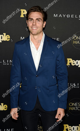"Colt Prattes poses at People magazine's ""Ones to Watch"" event, in West Hollywood, Calif"