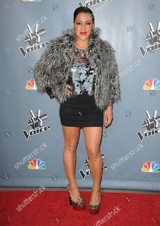 Editorial picture of 4th Season Premiere Screening of The Voice, Los Angeles, USA - 20 Mar 2013