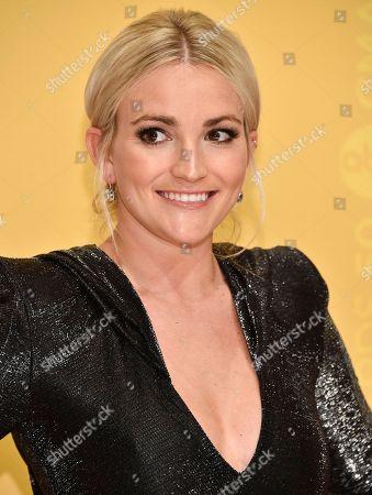 Jamie Lynn Spears attends the 50th annual CMA Awards at the Bridgestone Arena, in Nashville, Tenn