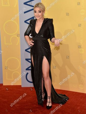 Stock Picture of Jamie Lynn Spears arrives at the 50th annual CMA Awards at the Bridgestone Arena, in Nashville, Tenn