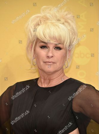 Stock Picture of Lorrie Morgan arrives at the 50th annual CMA Awards at the Bridgestone Arena, in Nashville, Tenn
