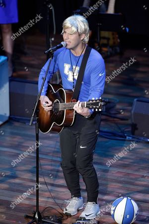 Ashley Gorley performs during the 54th Annual ASCAP Country Music Awards at the Ryman Auditorium on in Nashville, Tenn