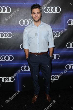 Erik Valdez arrives at the 5th Annual Audi Emmy Celebration, in West Hollywood, Calif
